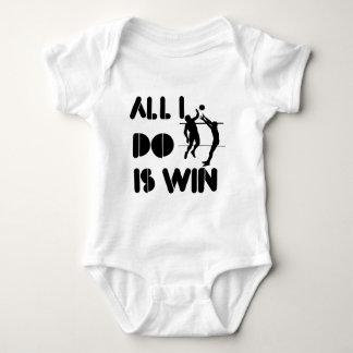 Todo lo que lo hago es triunfo en el voleibol body para bebé