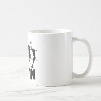 Todo lo que lo hago es triunfo en el voleibol taza de café