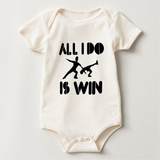 Todo lo que lo hago es triunfo en la figura patín body de bebé