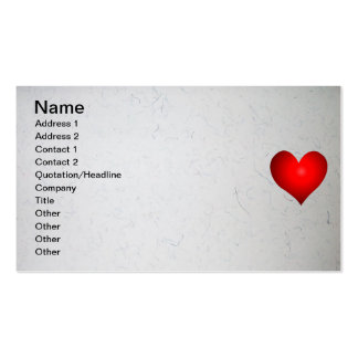 Todo lo que necesitamos es amor tarjeta de visita
