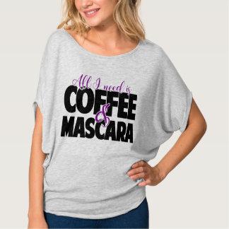 Todo lo que necesito es café y rimel remeras
