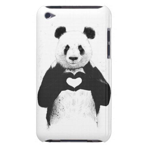 Todo lo que usted necesita es amor cubierta para iPod de barely there