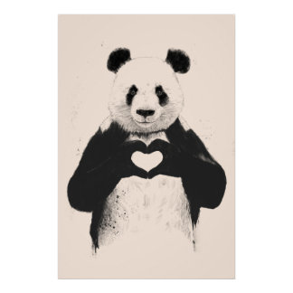 Todo lo que usted necesita es amor (la opción del  poster