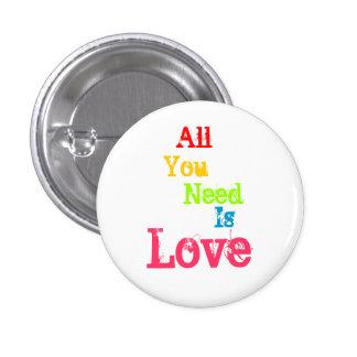 Todo lo que usted necesita es amor pin