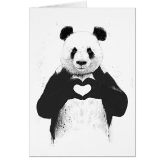 Todo lo que usted necesita es amor tarjetas