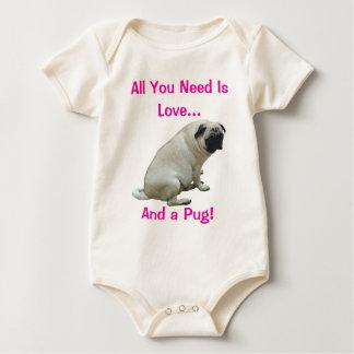 ¡Todo lo que usted necesita es amor y un barro Body De Bebé