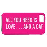 Todo lo que usted necesita es amor… y un caso del  iPhone 5 Case-Mate cobertura