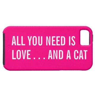 Todo lo que usted necesita es amor… y un caso del iPhone 5 carcasa