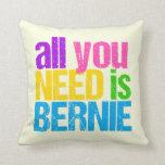 Todo lo que usted necesita es Bernie Cojín Decorativo
