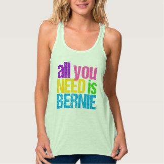 Todo lo que usted necesita es Bernie Playera Con Tirantes