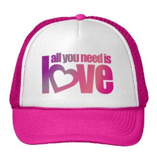 """""""todo lo que usted necesita es gorra/casquillo gorras"""