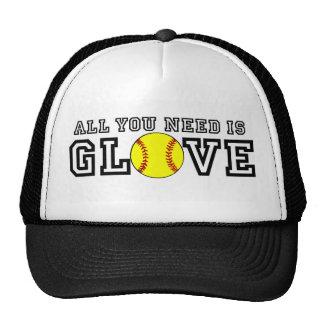 ¡Todo lo que usted necesita es guante Gorras