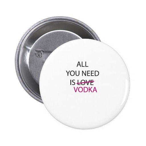 todo lo que usted necesita es vodka.ai pin