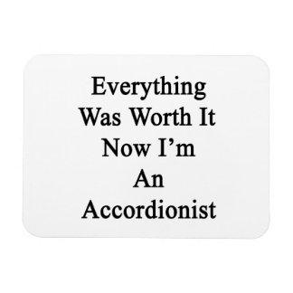 Todo lo valió ahora que soy acordeonista