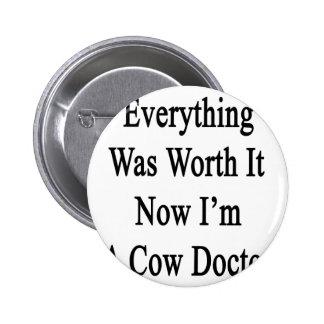 Todo lo valió ahora que soy doctor de la vaca