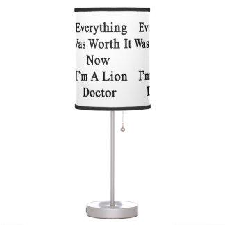 Todo lo valió ahora que soy doctor del león