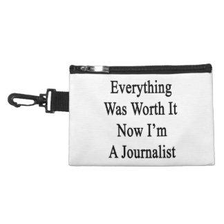 Todo lo valió ahora que soy periodista
