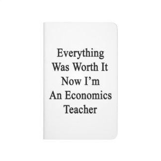 Todo lo valió ahora que soy una economía enseño cuaderno
