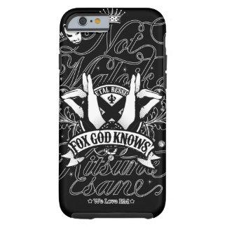 Todo mi amor a BM (ver del negro.) Funda Resistente iPhone 6