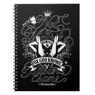 Todo mi amor a BM (ver del negro.) Note Book