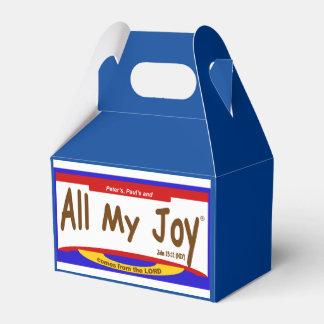 Todo mi señor Favor Boxes de la alegría Cajas Para Regalos De Boda