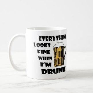 Todo mira muy bien cuando soy taza de café