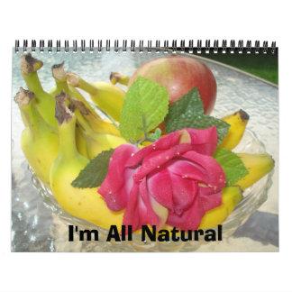 Todo natural calendarios de pared