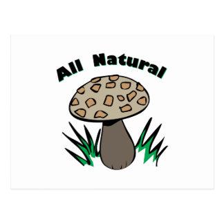 Todo natural tarjetas postales