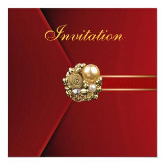 Todo ocasiona imagen del oro del terciopelo del invitaciones personalizada