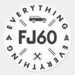 Todo pegatina FJ60