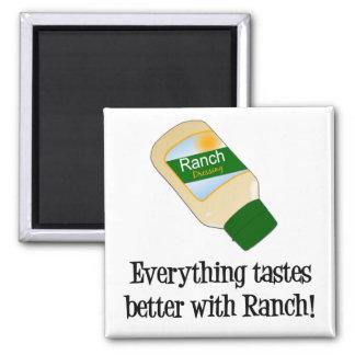 Todo prueba mejor con el rancho imán cuadrado