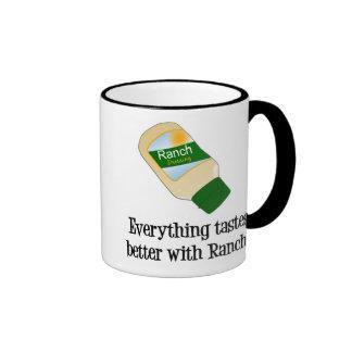 Todo prueba mejor con el rancho tazas de café