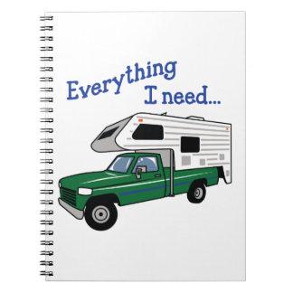 Todo que necesito cuaderno