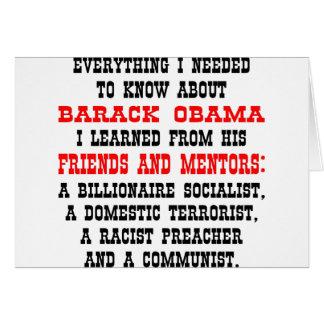 Todo que necesito saber sobre Barack Obama Tarjetón