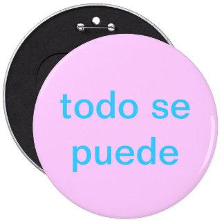 todo se puede nada es imposible botón