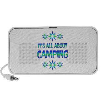 Todo sobre acampar mini altavoz
