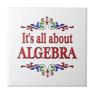 Todo sobre álgebra azulejos