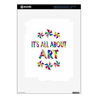 Todo sobre arte pegatinas skins para iPad 3