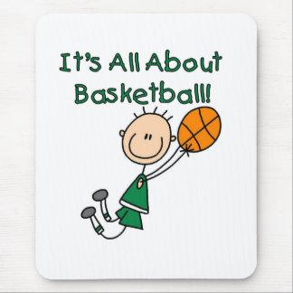 Todo sobre baloncesto alfombrilla de ratones