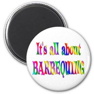 Todo sobre Barbequing Imán Para Frigorífico