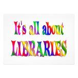 Todo sobre bibliotecas comunicado personal