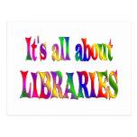 Todo sobre bibliotecas postales