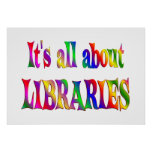 Todo sobre bibliotecas posters