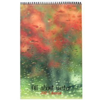Todo sobre calendario del agua 2012