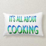 Todo sobre cocinar cojin