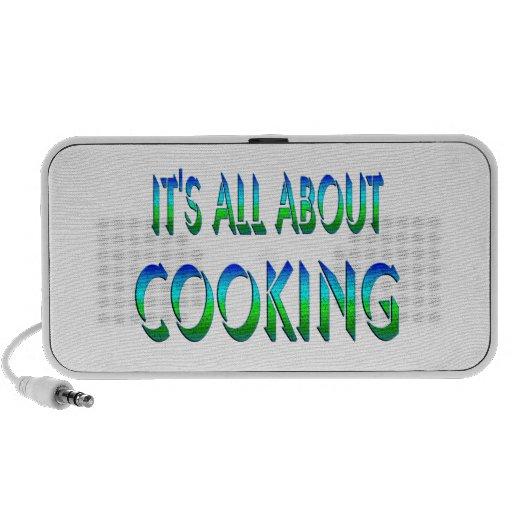 Todo sobre cocinar iPod altavoz