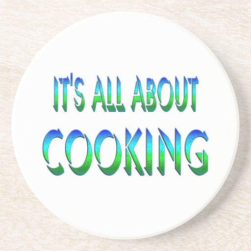 Todo sobre cocinar posavasos diseño
