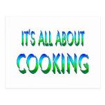 Todo sobre cocinar postales