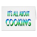 Todo sobre cocinar tarjetas
