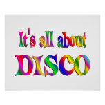 Todo sobre disco poster